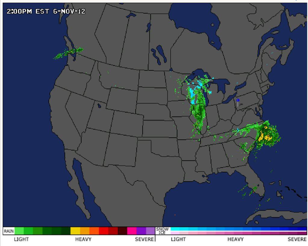 radar map election day
