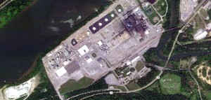Aerial view of the Horseheads zinc plant