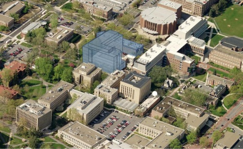 Penn State's new $140 million Chemical/Biomedical Engineering Building
