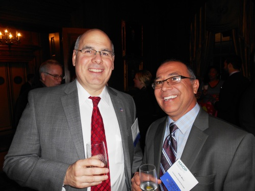 Clayco's Scott Caplan and Carl Belli from Continental at the NAIOP Pittsburgh bash.