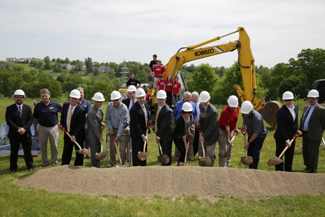 Groundbreaking May 25