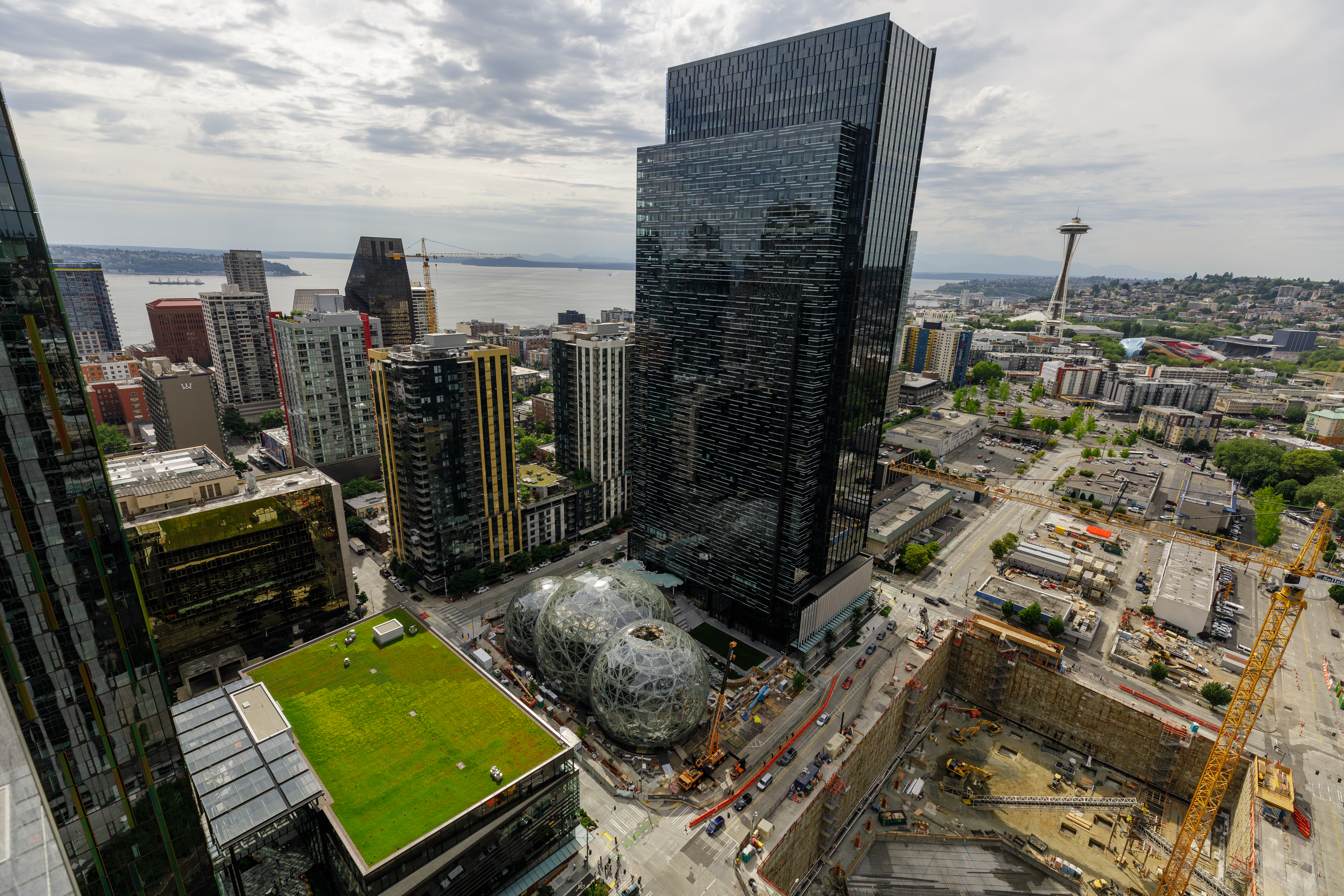 Amazon's Seattle Campus 2017