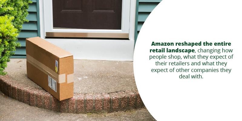 Amazon reshaped the entire retail landscape