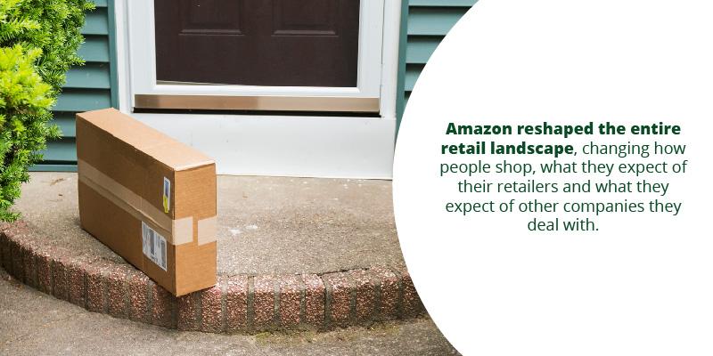 Amazon reshaped the entire retail landscape