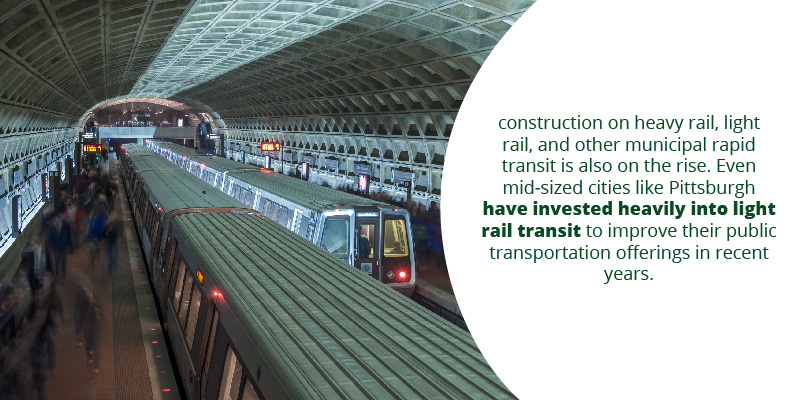 Construction of rapid mass transit