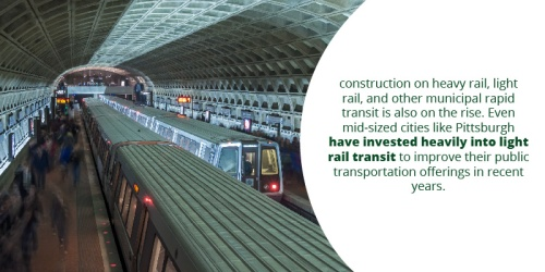 Construction of rapid mass transit
