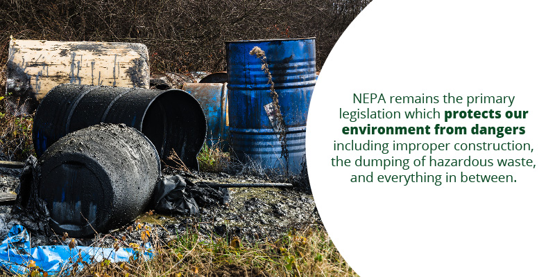 The Changes are Aimed at Alternating NEPA (National Environmental Policy Act)