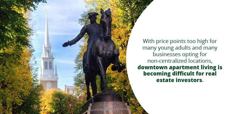 Boston's Struggling Multifamily Real Estate