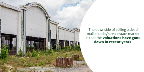 Option 4 Sell the Mall and Associated Properties to Developers