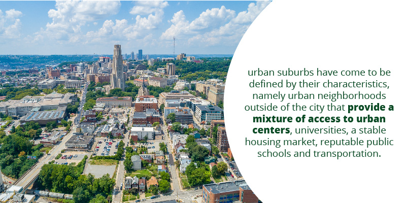 """What are """"Urban"""" Suburbs"""